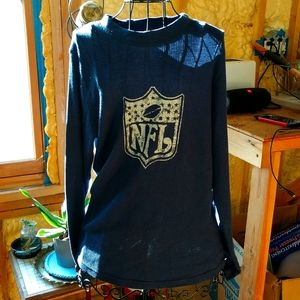 NFL long john shirt VINTAGE